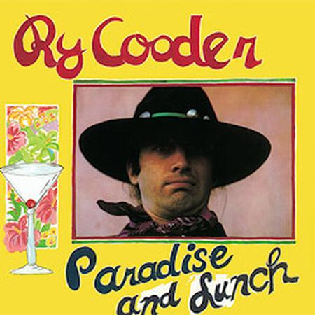 Ry Cooder - Paradise And Lunch - Speakers Corner LP