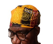 Load image into Gallery viewer, Kente Headwraps & Embroidery Hat