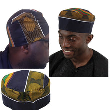 Load image into Gallery viewer, Kente Kufi Hat