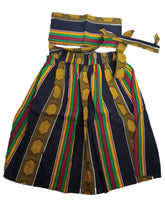 Load image into Gallery viewer, Kente Short Skirt