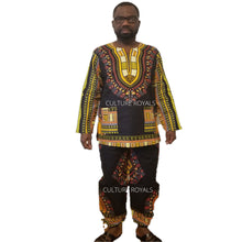 Load image into Gallery viewer, Dashiki Top/Blouse and Pant