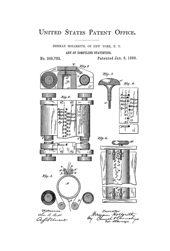 First Computer Patent - Patent Print, Wall Decor, Computer Decor, Vintage Computer, Old Computer, Steampunk Decor