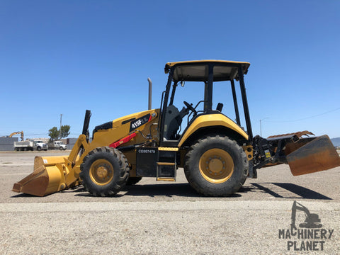2016 Cat 415F2 IL 4x4 Landscape Loader