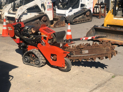 2012 Ditch Witch RT24 Walk Behind Trencher