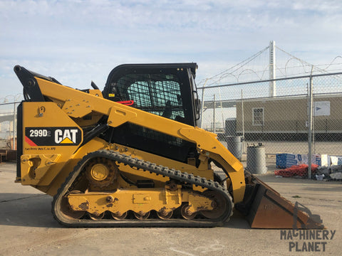 2016 CAT 299D2 Two-Speed High-Flow