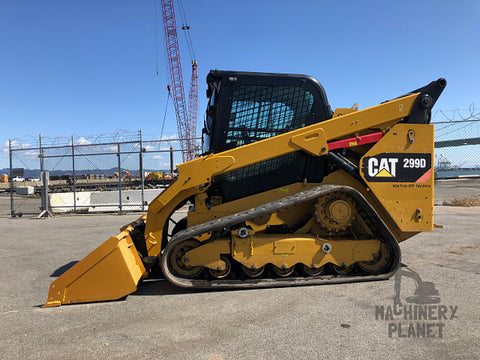 2014 CAT 299D High Flow XPS