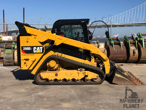 2018 CAT 299D2 Two-Speed High-Flow