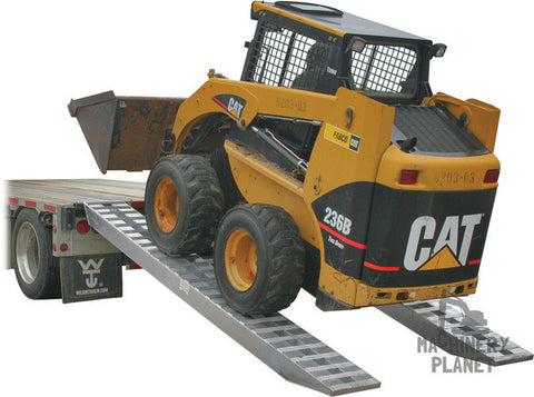 Loading Ramps for heavy equipment 10,000 lb per axle