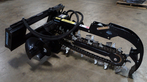 Blue Dimond Trencher skid steer attachment 48""
