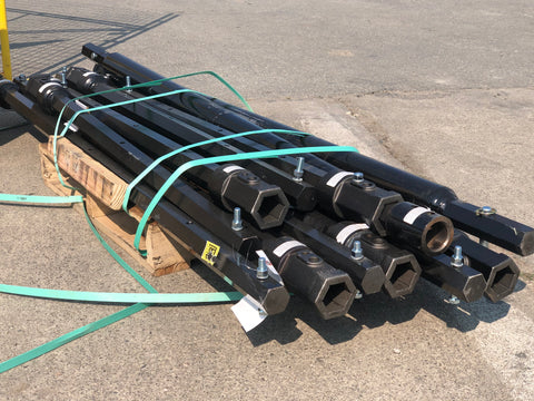 "72"" X 2"" Hex Variable Length Extension"
