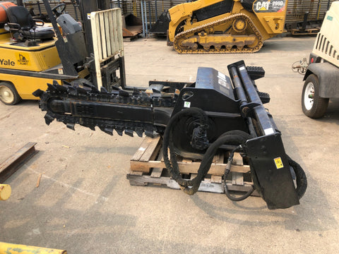 CAT T9B Skid-Steer Trencher
