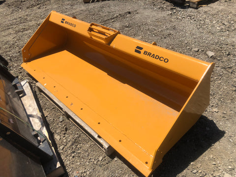 "Bradco 84"" Skid-Steer  Bucket Heavy duty"