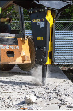 Stanley -  MBF5S02 WITH Skid steer & Mini Excavator Exchange Combo Bracket