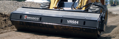 BRADCO SMOOTH VIBRATORY ROLLER ATTACHMENT 66""