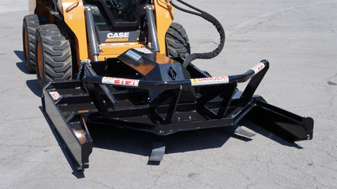 Blue Diamond Brush Cutter - Extreme Duty Open Front Mower