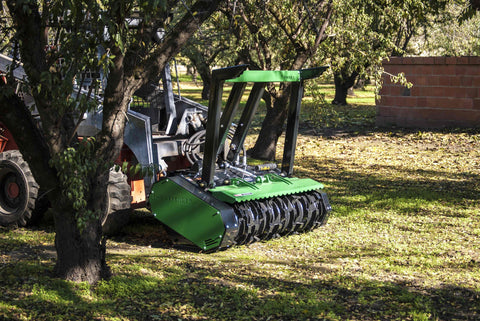 "FHX66  Defender Skid Steer Forestry Mulcher- Brush up to 10""  piston motor"