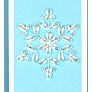 Snowflake Quilling Card- Mini