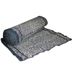 Hmong Indigo Table Runner