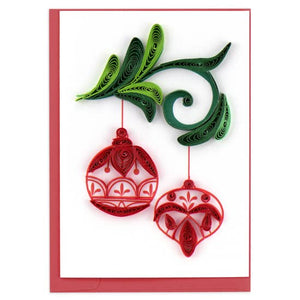 Ornaments Quilling Card- Mini