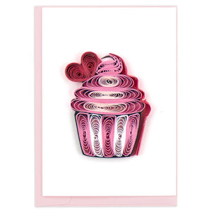 Cupcake Quilling Card