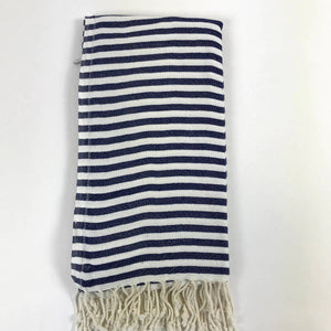 Belle Turkish Towel- Navy