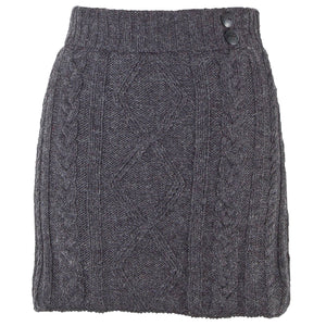 Grace knit skirt- Graphite