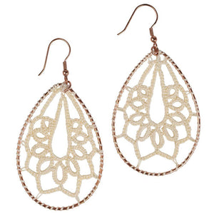 Delicate Tatted Earrings