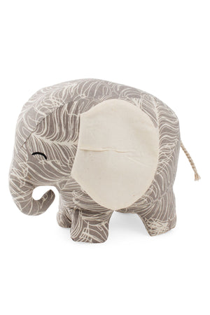 Happy Stuffed Elephant (Lg)