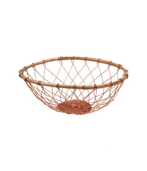 Copper and Bamboo basket