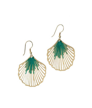 Shimmering Shell Earrings