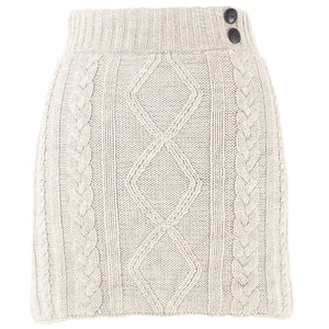 Grace knit skirt- Oatmeal
