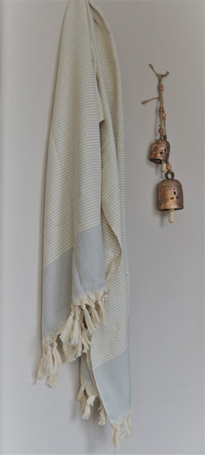 Hare Turkish towel-Grey