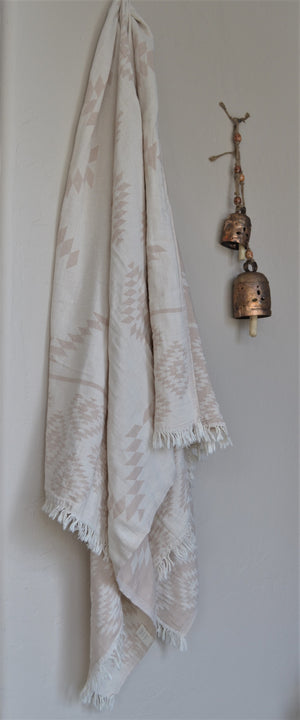Tribe Turkish Towel-Cream