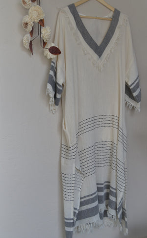 Hand Loomed Turkish Cotton Tunic