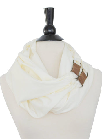 Nan Scarf- Off White