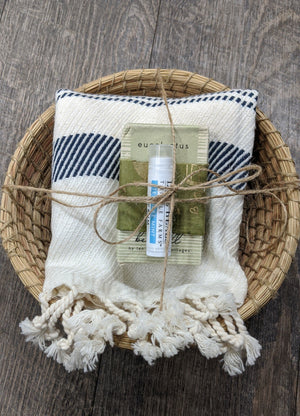 Gift Basket - Towel/Soap/Lip Balm