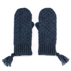 Bethany Mittens- Teal Blue