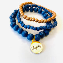 Load image into Gallery viewer, Defend Dignity Bracelets  Navy & Copper image 3