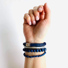 Load image into Gallery viewer, Defend Dignity Bracelets  Navy & Copper image 4