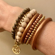 Load image into Gallery viewer, Defend Dignity Bracelets  Navy & Copper image 9