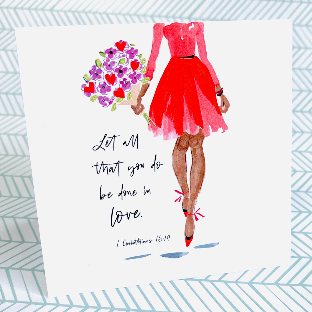 Let All You Do - Beth Briggs Faith & Fashion Cards - Redeemed With Purpose