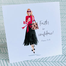Load image into Gallery viewer, Set of Six - Beth Briggs Faith & Fashion Cards - Redeemed With Purpose