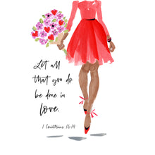 Load image into Gallery viewer, Let All You Do - Beth Briggs Faith & Fashion Cards - Redeemed With Purpose