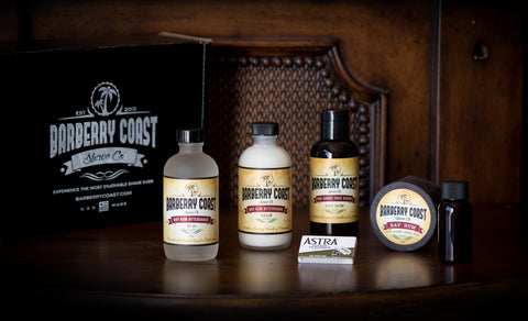 Bay Rum Collection by Barberry Coast Shave Co.