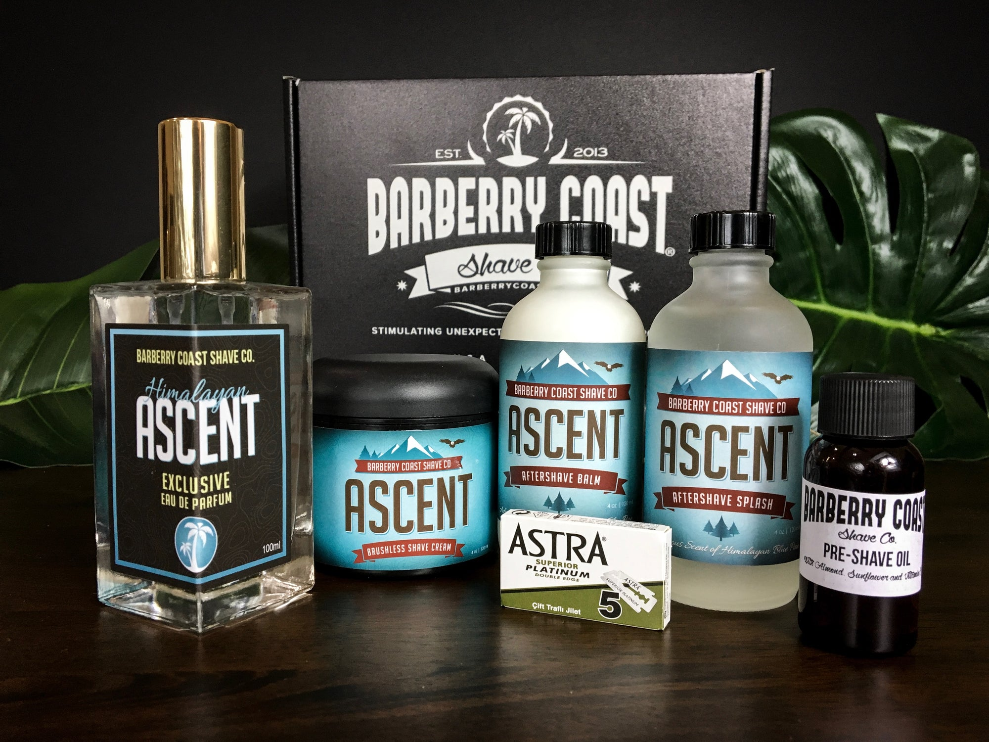 Himalayan Ascent Shaving & Cologne Gift Set - FREE Same Day Shipping
