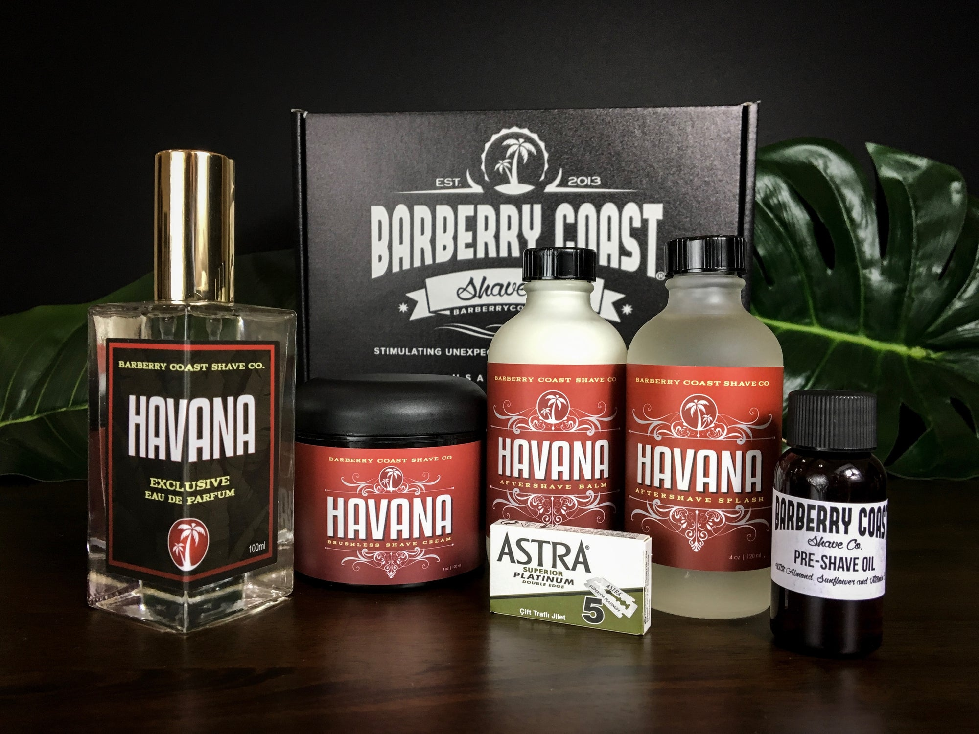 Havana Shaving & Cologne Gift Set - FREE Same Day Shipping