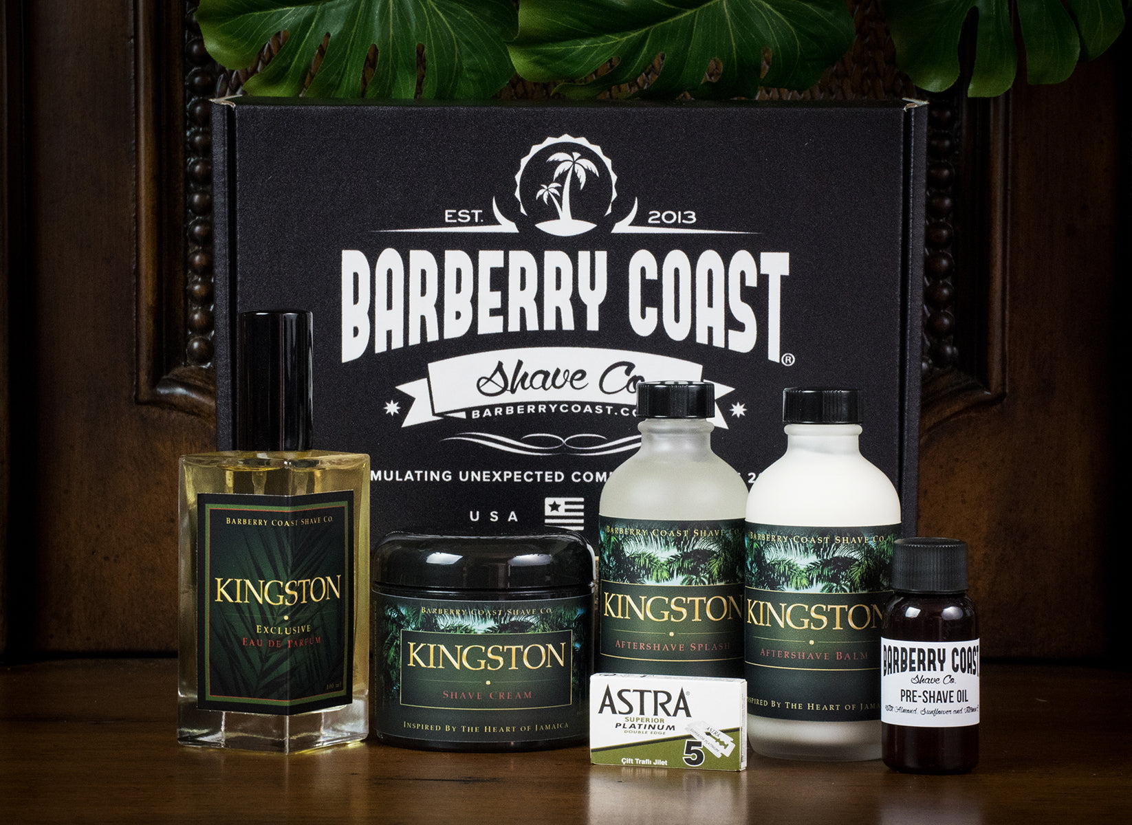 Kingston Shaving & Cologne Gift Set - FREE Same Day Shipping