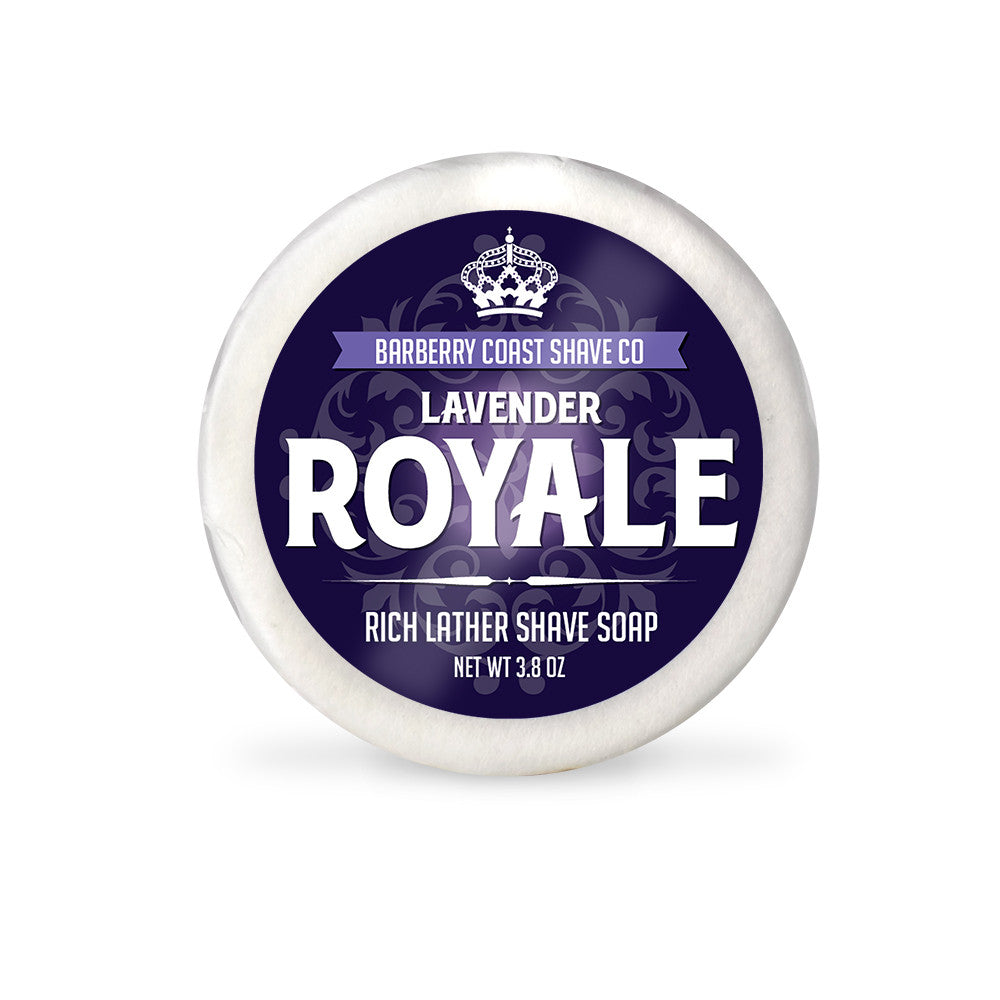 Lavender Royale Rich Lather Shave Soap