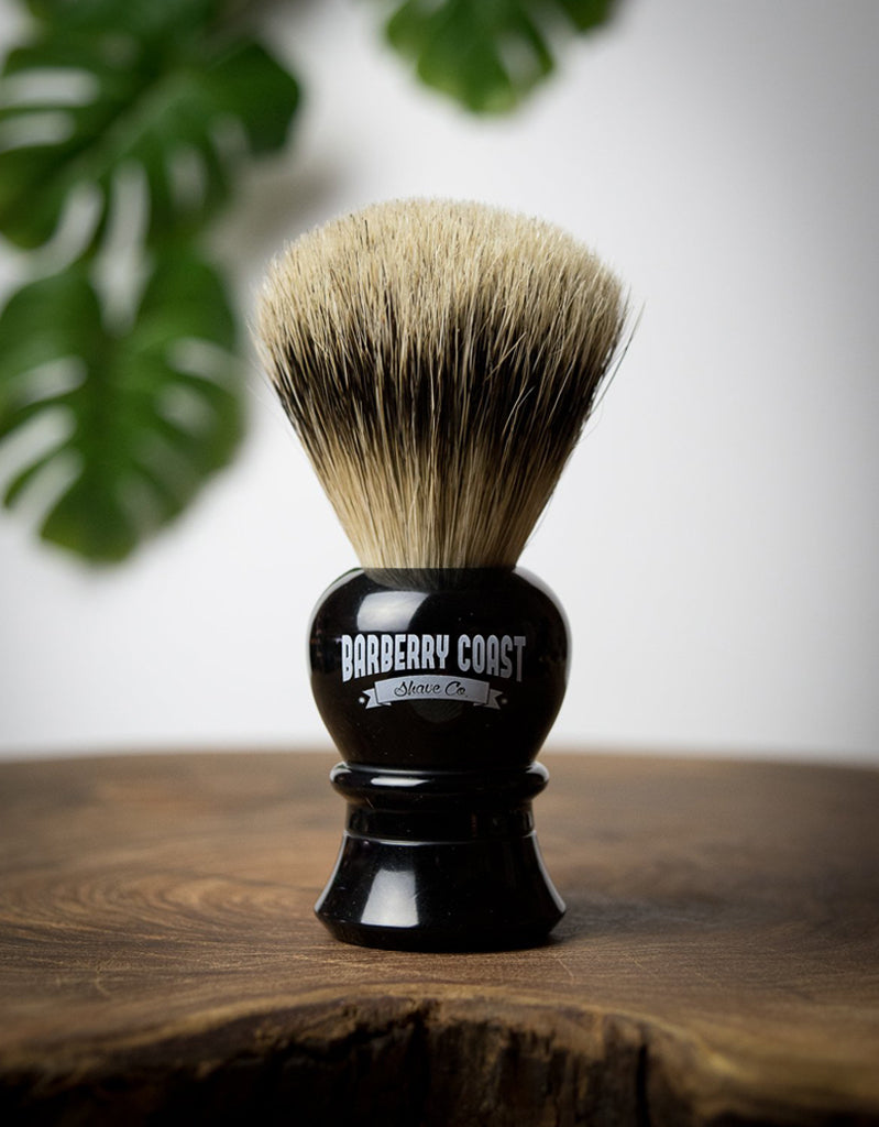 The Majestic Super Badger Shave Brush