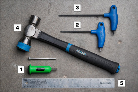 OneUp Components EDC Lite Things you will need to install